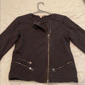 Gap dark gray medium zipper jacket
